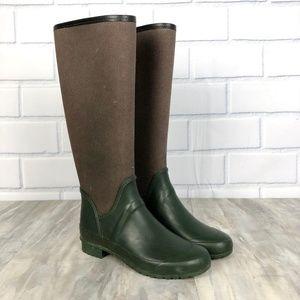 Zara Combination Rain Boot Wellies Size 36 6